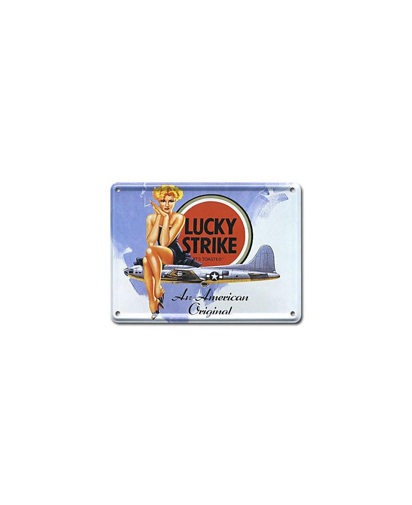 Mini plaque décorative Lucky Strike