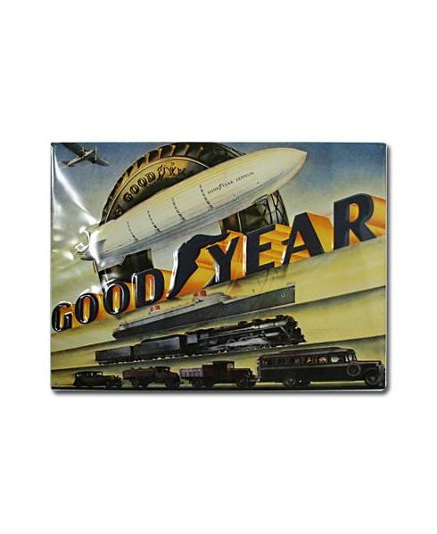 Plaque décorative en relief Good Year (petit modèle)