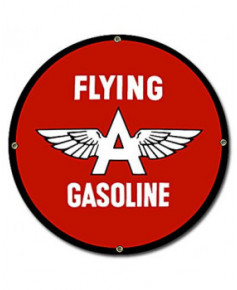 Plaque émaillée Flying Gasoline