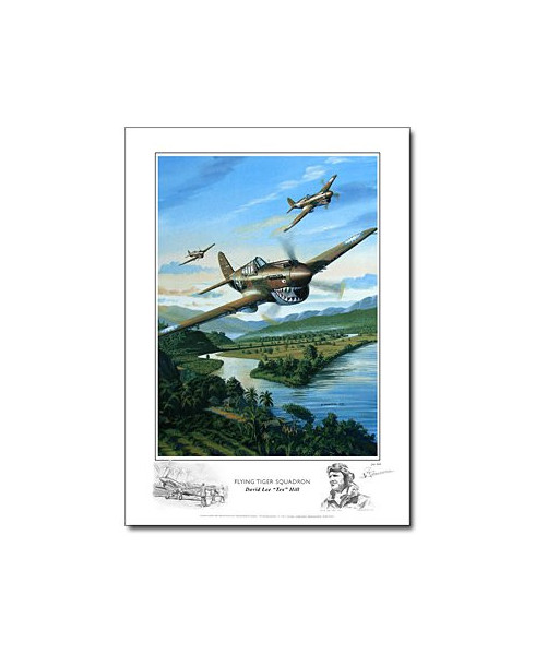 Poster Flying Tiger Squadron