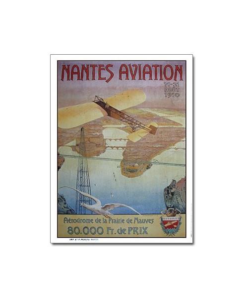 Affiche Meeting d'Aviation de Nantes