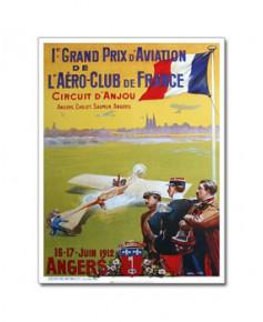 Affiche Meeting d'Aviation d'Angers