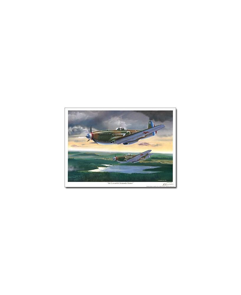 Poster Yak 3 Normandie Niemen