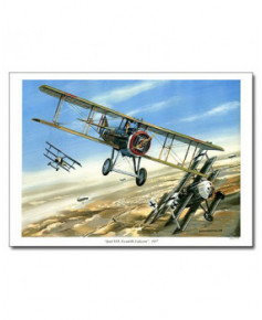 Poster Spad XIII Escadrille Lafayette