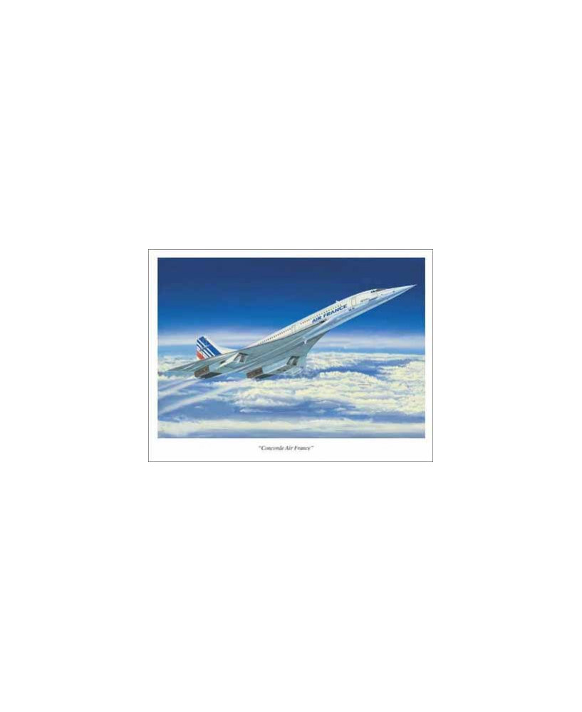 Poster Concorde Air France