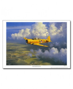 Poster North American T6