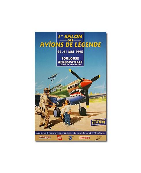 Affiche Salon des avions de légende
