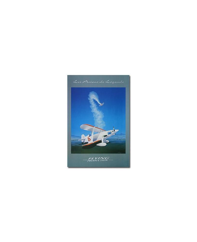 Poster Pitt's - Les Avions de Légende