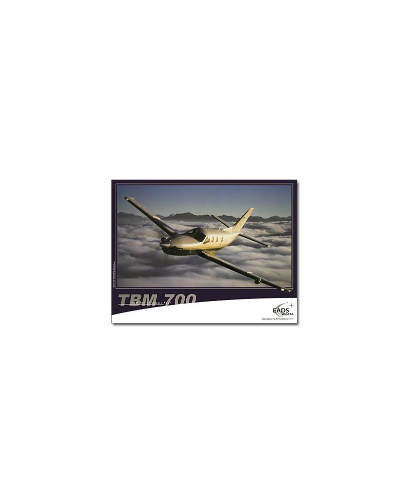Poster TBM700 en vol