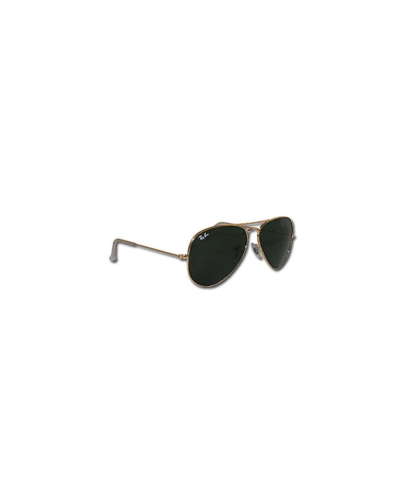 Lunettes Ray-Ban Aviator Large Metal (taille moyenne) - Monture dorée