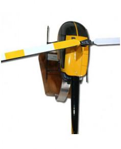 Maquette bois Robinson R22