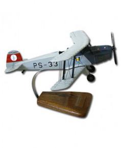 Maquette bois Bücker 131