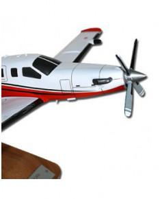 Maquette bois TBM 850