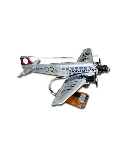 Maquette bois Junkers JU52 Lufthansa