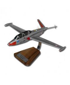 Maquette bois Fouga Magister Armée de l'Air