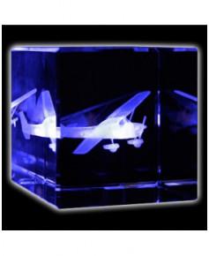 Bloc de verre Cessna 60x60x60 mm