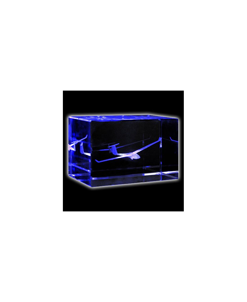 Bloc de verre planeur ASW20 50x50x80 mm