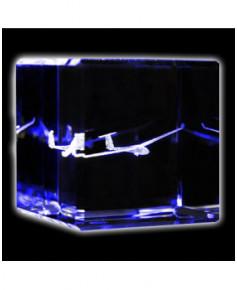 Bloc de verre planeur ASW20 40x40x40 mm