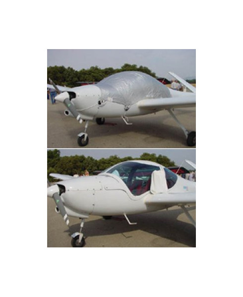 Bâche avion finition Eco-light Plus verrière pour Robin ATL