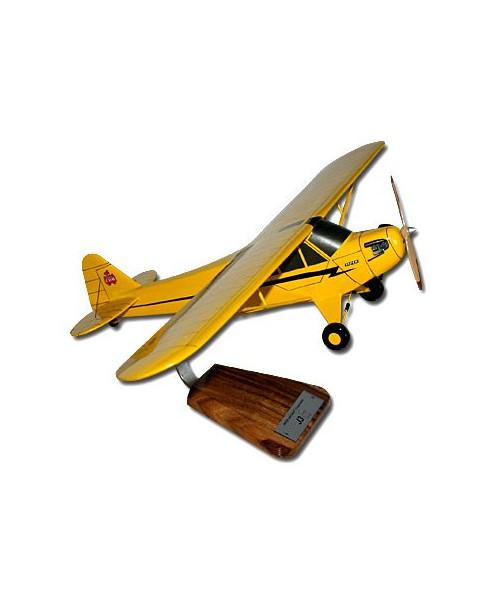 Maquette bois Piper J3