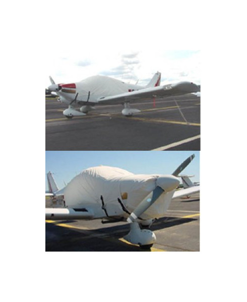 Bâche avion finition Eco-light Top verrière pour Robin 1180T Aiglon