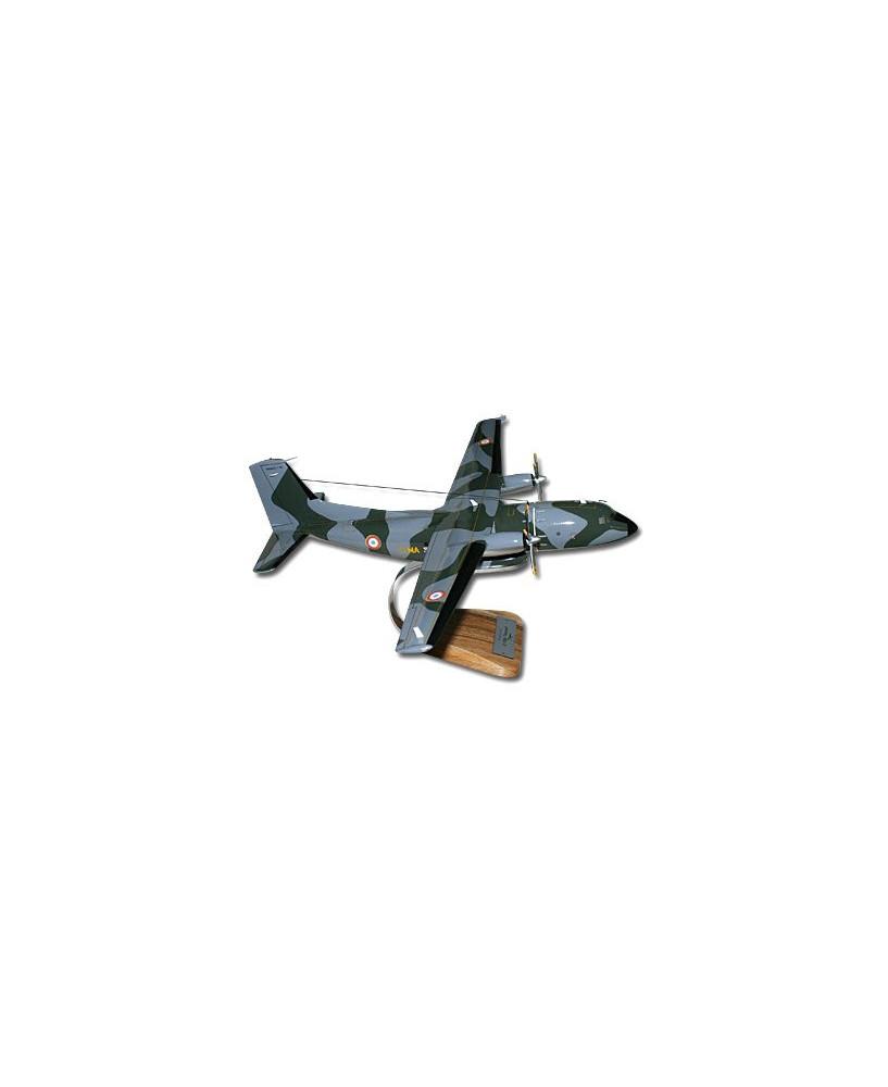Maquette bois C160 Transall Camouflé Armée de l'Air