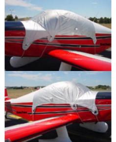 Bâche avion finition Eco-light Top verrière light pour DR1050 Sicile/Ambassadeur