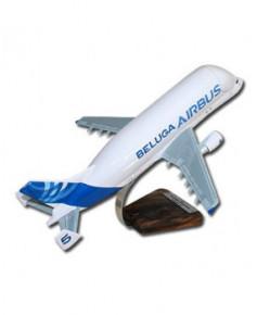 Maquette bois A300/600 ST Beluga couleurs Airbus - 1/144e