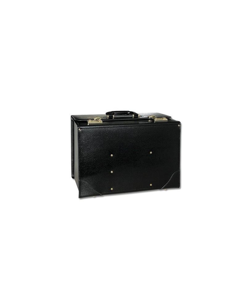 Pilot-case cuir Jeppesen FC-6 23 cm