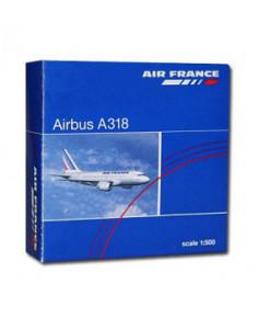 Maquette métal A318 Air France ancienne livrée - 1/500e
