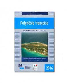 Carte Vol à Vue Polynésie française - S.I.A. 2016