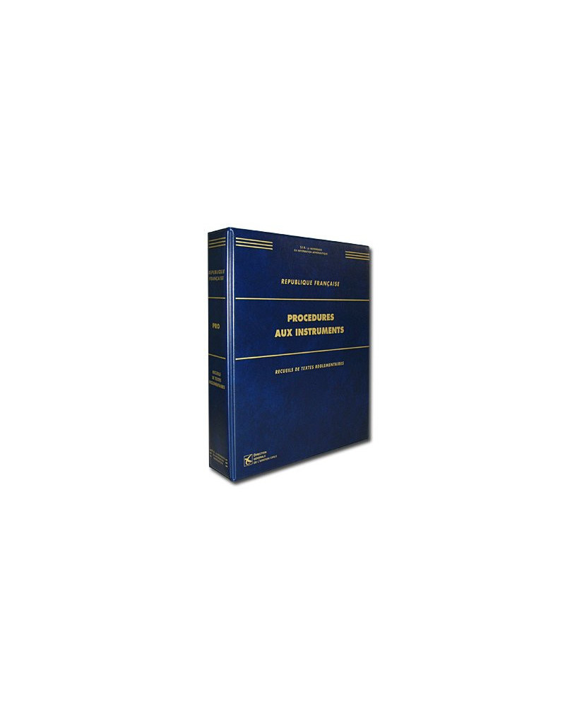 Réglementation relative aux procédures et aux minimums opérationnels