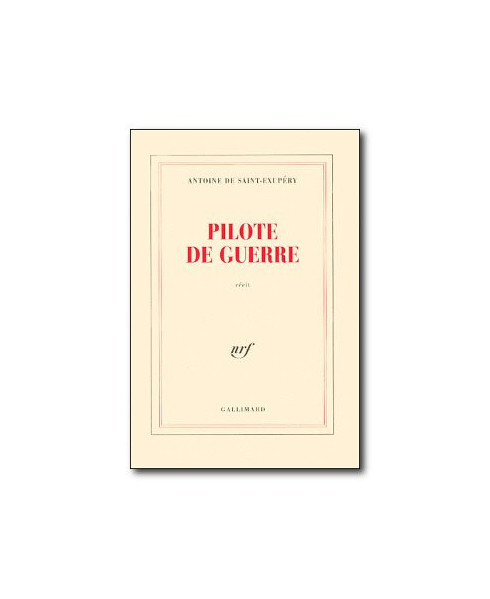 Pilote de guerre (Gallimard)