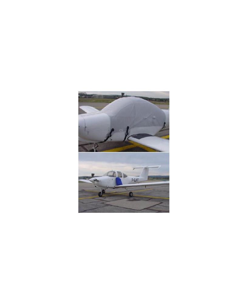 Bâche avion finition Eco-light Top verrière pour Piper PA38 Tomahawk