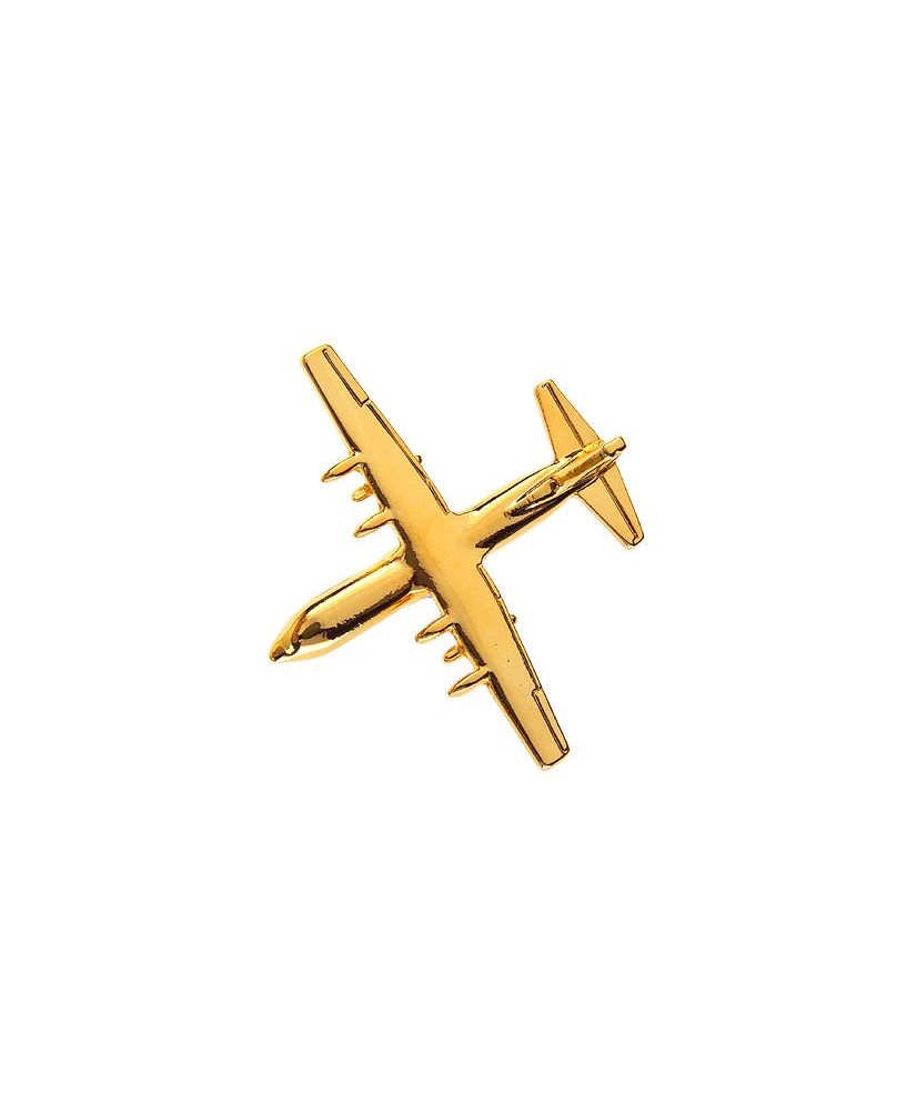 Pin's doré C130 Hercules grand modèle
