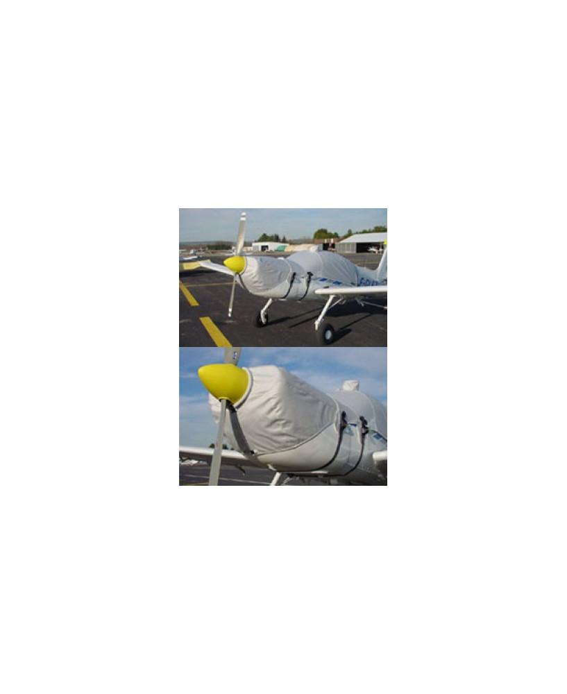 Bâche avion finition Eco-light Top verrière pour Rallye Commodore et Guerrier 235 verrière longue