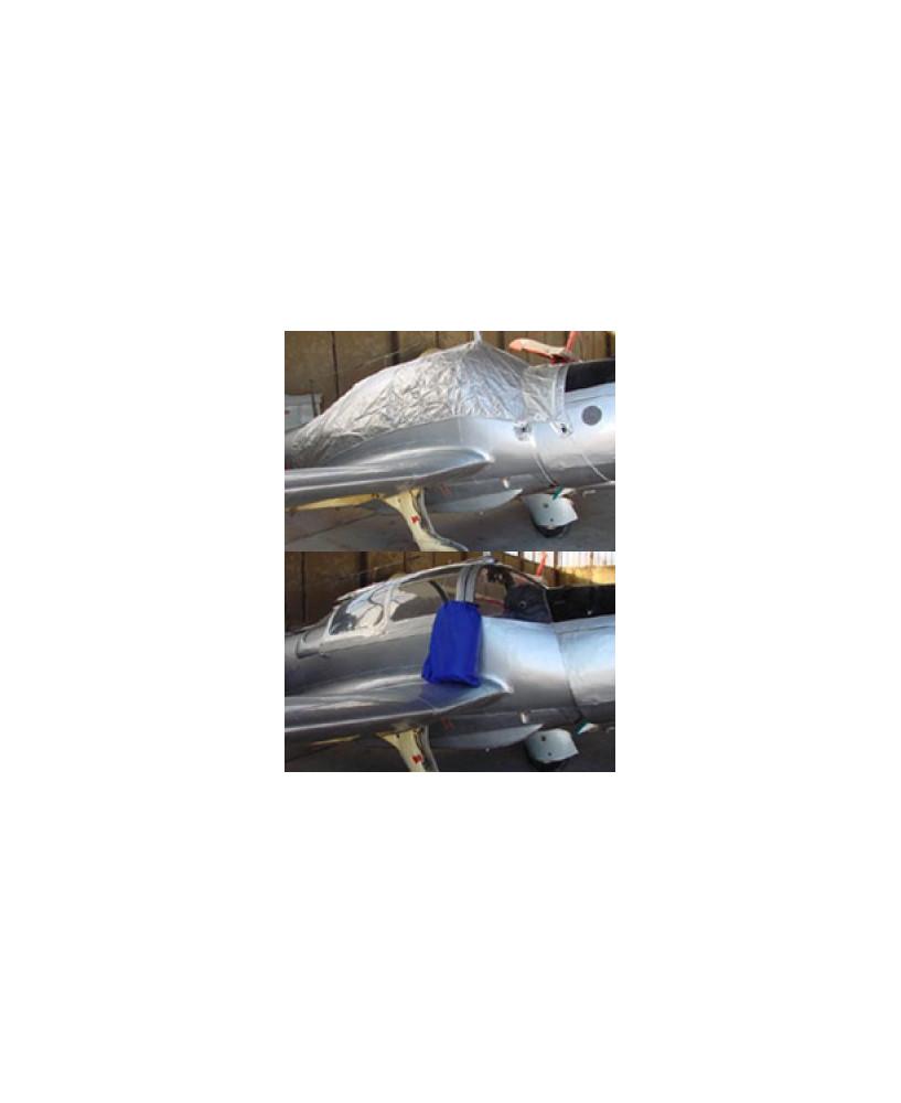 Bâche avion finition Eco-light Plus verrière pour Morane Saulnier MS733