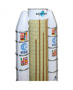 Maquette bois Ariane 5