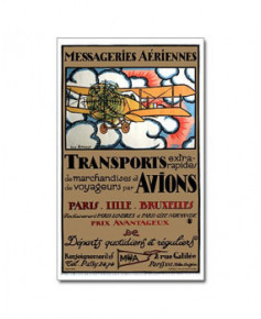 Affiche Messageries Aériennes