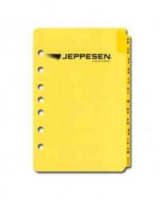 Index alphabétique pour classeur Jeppesen Airway Manual