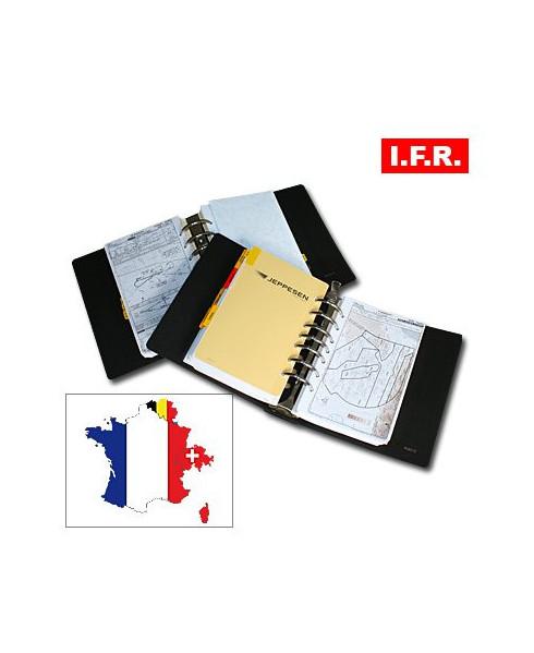 Atlas Airway Manual I.F.R. France avec classeurs cuir - AFRA04