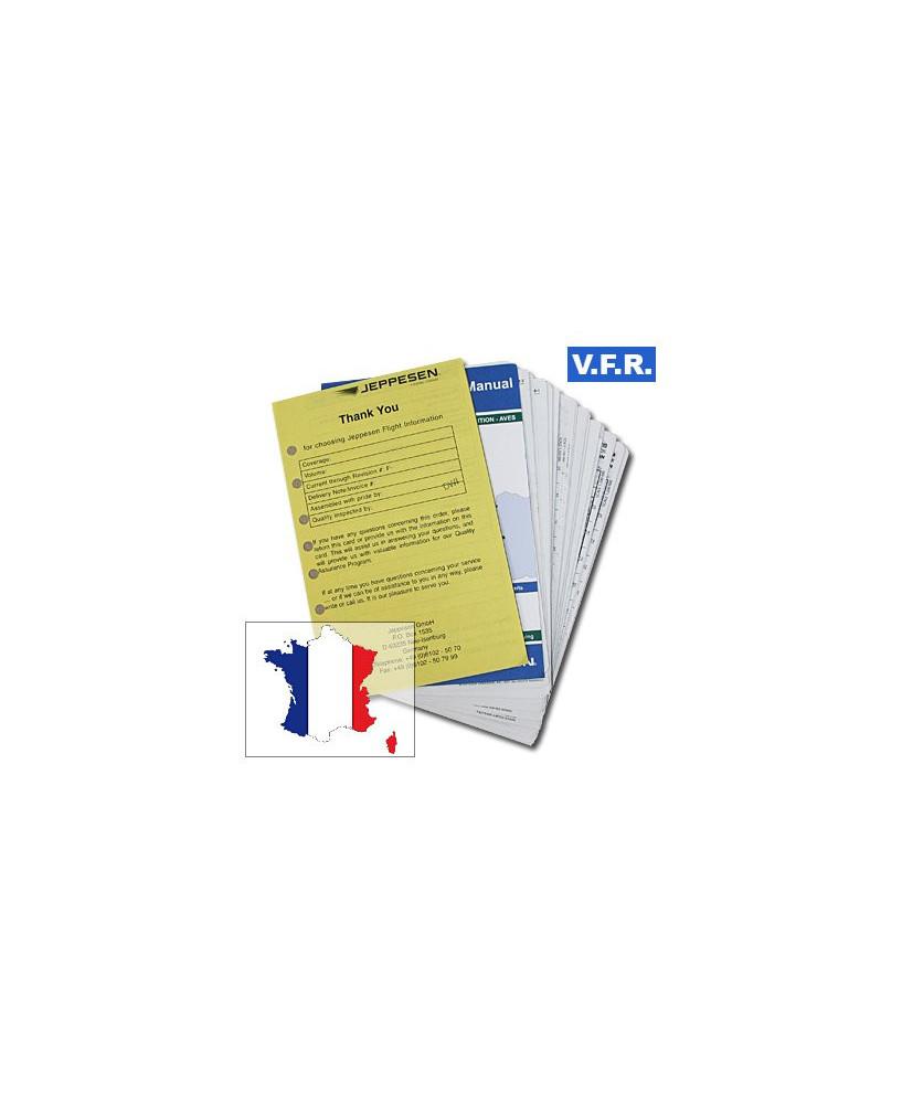 Trip kit V.F.R. Manual France