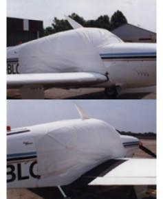 Bâche avion finition Eco-light Top verrière pour Beech 35 Bonanza et Debonair