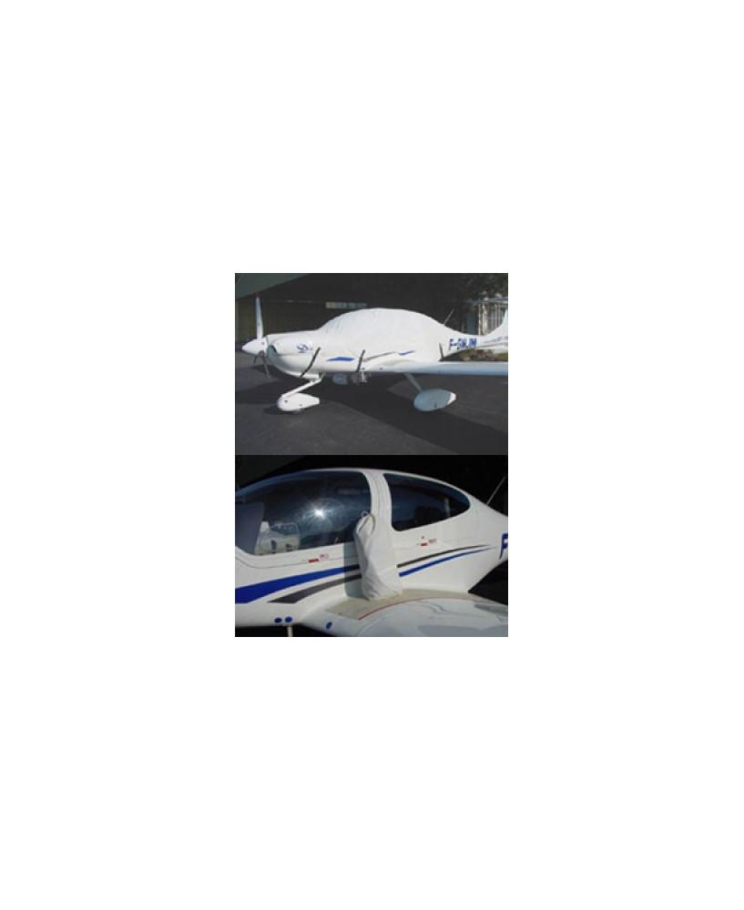 Bâche avion finition Eco-light Top verrière pour DA40 Diamond Star