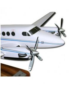 Maquette bois Beech Super King Air 200