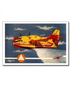 Carte postale Jean-Pierre CONDAT - Canadair CL415