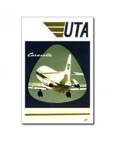Carte postale Jean-Pierre CONDAT - La Caravelle d'UTA