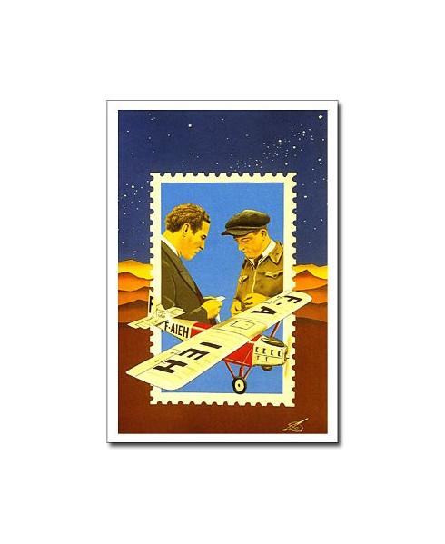 Carte postale Jean-Pierre CONDAT - Une amitié scellée