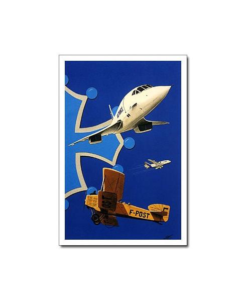 Carte postale Jean-Pierre CONDAT - Un ciel de légende