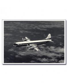 Carte postale noir et blanc - 08 - Lockheed L188 Electra